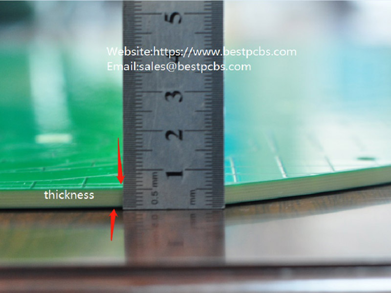 The thickness of heavy copper PCB