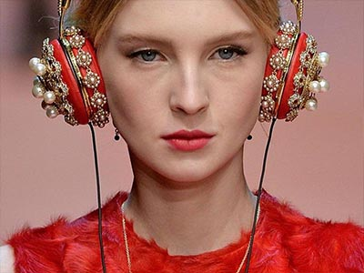 luxury headphone from D&G