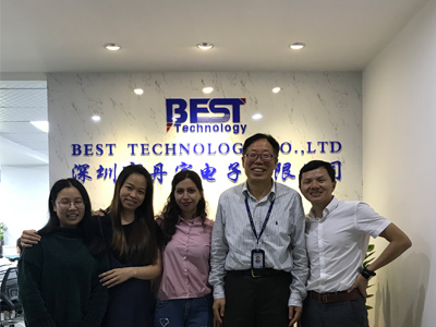 Customers' Visit to Best Technology