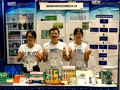 Best Technology's Exhibition in PCB West 2019