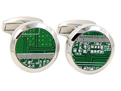 PCB Cufflinks