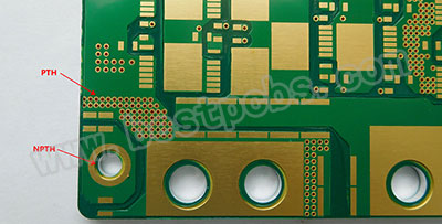 Why do MCPCB board have holes? What is PTH/NPTH?