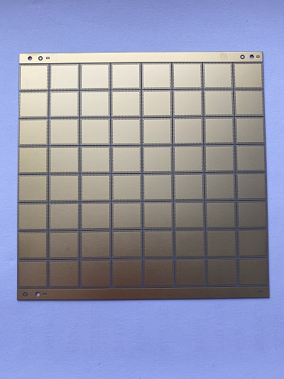 Laser drilling and cutting in the production process of ceramic circuit boards