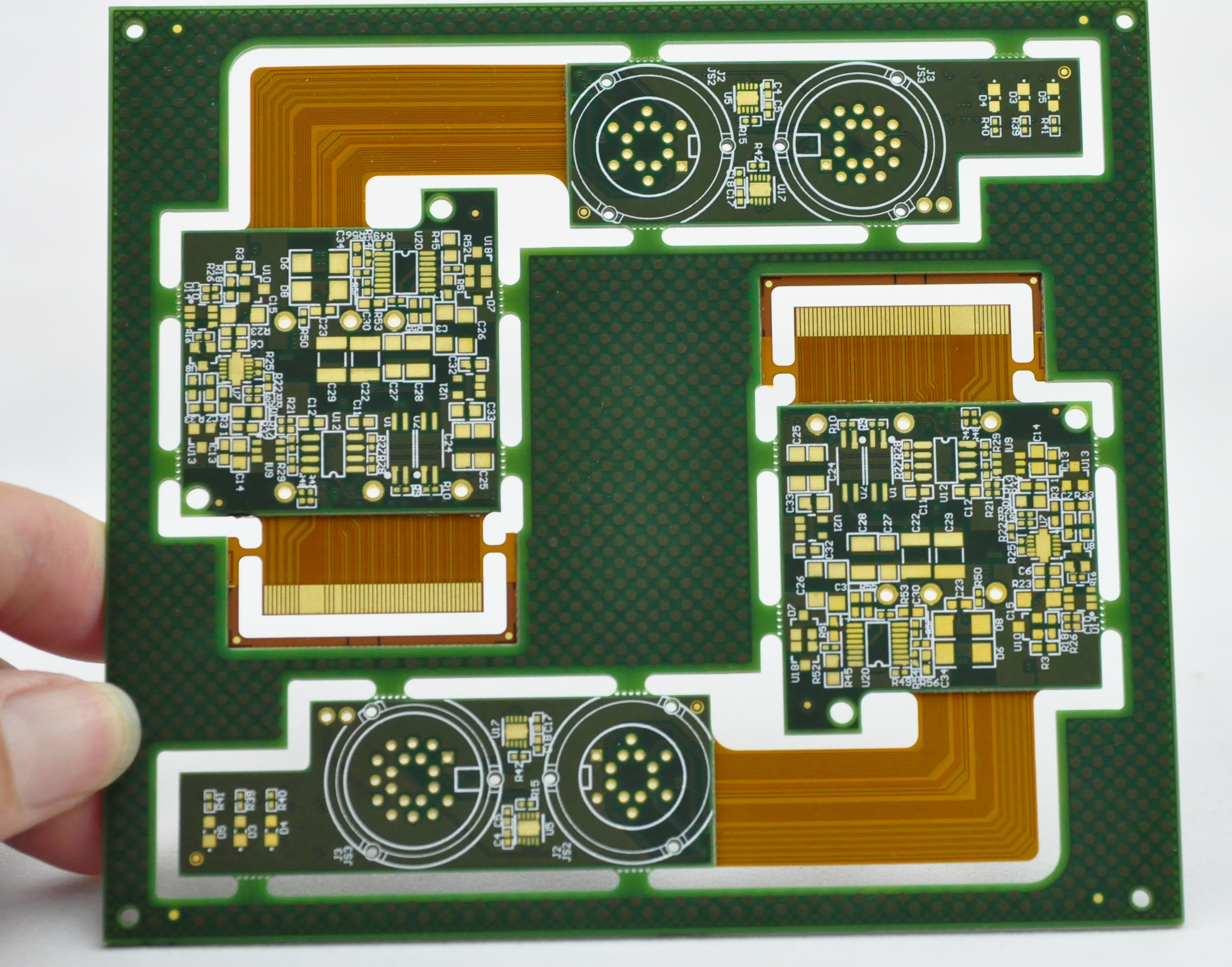 rigid flex circuit rigid flex pcb rigid flexible circuits