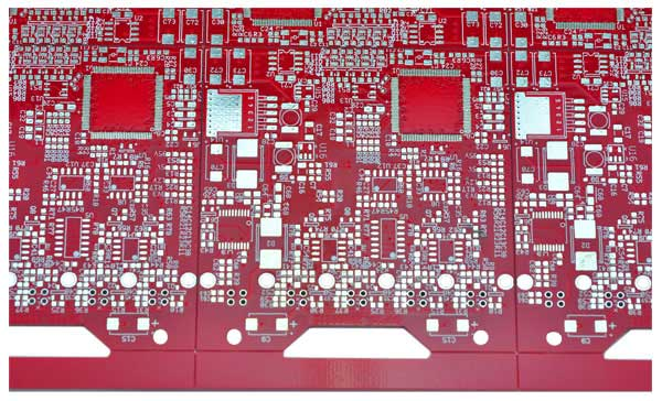 red soldermask PCB