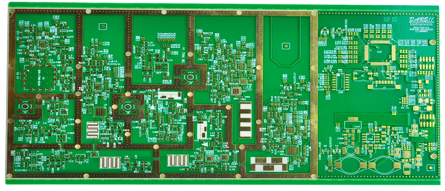 Rogers 4003 Fr4 Pcb Rogers Pcb Ro4003 Fr4 6 Layers