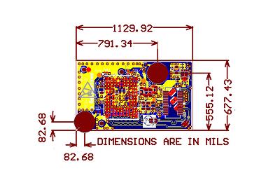 BPM19055- Multi-Layer FR4 PCB