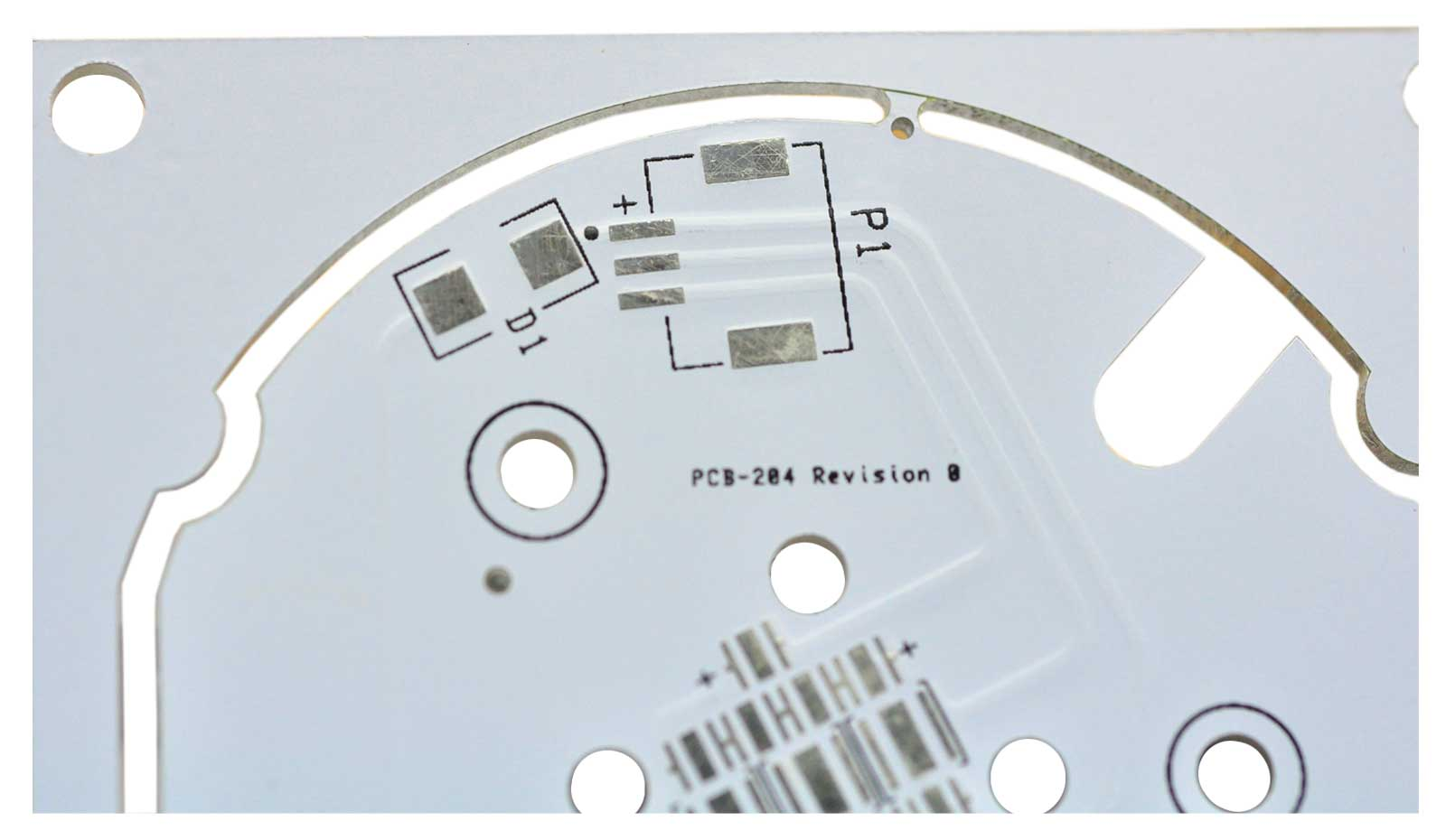 Bas13090 1 Layer Aluminum Core Pcb 3w Mcpcb Cree Led By Oz Flexible Printed Circuit Board And Cover Film Supplier 1layer Metal